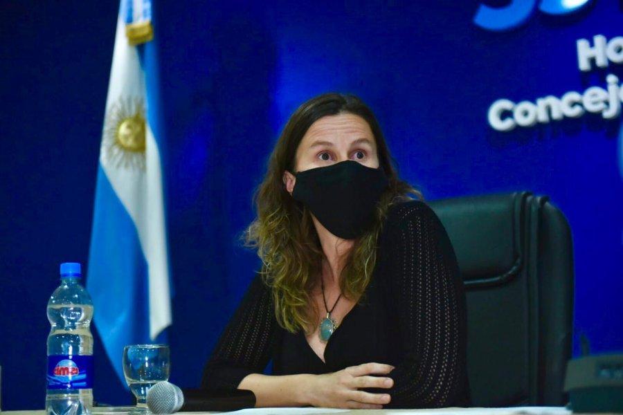 Marisa Follonier otra vez hizo uso de su banca.